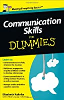 Communication Skills For Dummies Front Cover