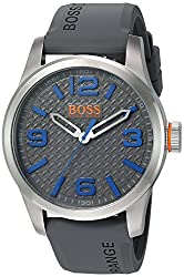BOSS Orange Men's 'PARIS' Quartz Stainless Steel Casual Watch (Model: 1513349) by BOSS Orange