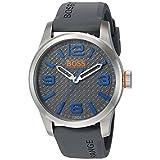 BOSS Orange Men's Paris Quartz Stainless Steel Casual Watch (Model: 1513349)