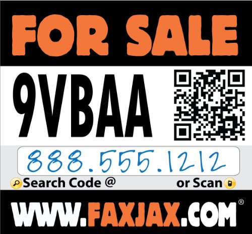 For Sale Sign With Qr Code & Website