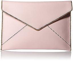 Rebecca Minkoff Leo Envelope Clutch, Baby Pink, One Size