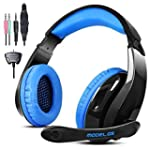Gaming Headset for PS4 Xbox360 PC iPh...