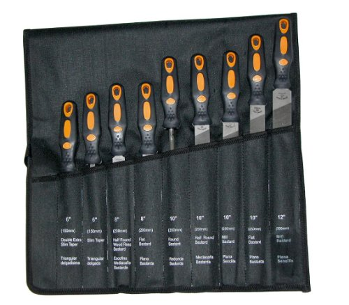 9 PIECE ASSORTED AMERICAN PATTERN FILE SET