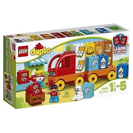 LEGO - 10818 - DUPLO - Jeu de Construction - Mon Premier Camion