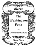 img - for The Washington Post - March - Piano Solo book / textbook / text book