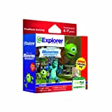 Leapfrog Explorer Learning Game Disney Pixars Monsters University with Free Collectible Toy