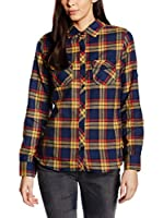 Craghoppers Camisa Mujer Bluse Braworth Langarm (Azul Oscuro)