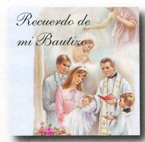 100 Baptismal Mini Remembrances Cards in Spanish - Holy Family, 1.5
