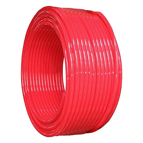 Pex Tubing Oxygen Barrier Coil Hydronic Radiant Floor Heat Pipe and Water Tube 1/2 Inch x 1000 Feet, Red Category A (Floor Heat Boiler compare prices)