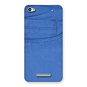 Men Royal Blue Back Case Cover for Micromax Hue 2