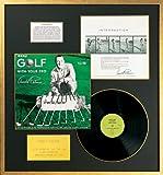 Arnold Palmer – 'Golf Tips' Record Album, Framed – 28 x 29