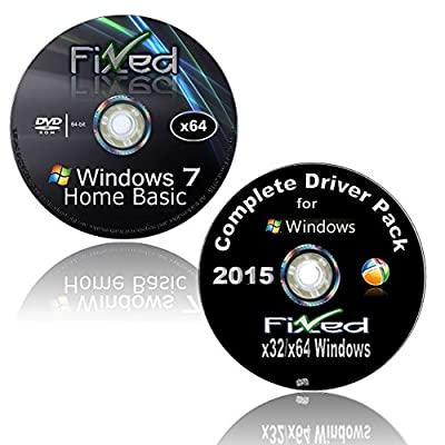 WINDOWS 7 Recovery Disc 32/64 Bit-All Versions w/Network Drivers (Starter-Home Basic-Home Premium-Pro-Ultimate) Re-install Factory Fresh! Get online! Repair your PC. Full Support Included!