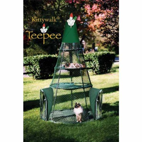 Kittywalk Systems Cat Teepee by Kittywalk Systems Inc Picture