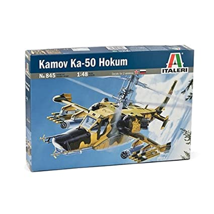 Italeri - n°845 - Maquette - Aviation - Kamov KA-50 Hokum - Echelle 1:48