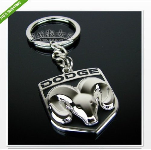 Makarine Dodge logo METAL KEYCHAIN KEY RING Caravan Caliber Journey Viper Ram JCUV Neon (Key For Dodge Journey compare prices)