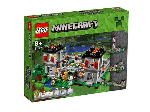 Lego-Minecraft-The-Fortress-21127-New-for-2016