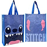 DISNEY LILO & STITCH REUSABLE LESSON BAG FOR KIDS H 12.5 .FREE US SHIPPING