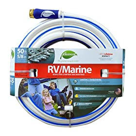 Colorite Element ELMRV58050 Marine/RV Lead Free Drinking Water Safe 5/8-Inch by 50-Foot Water Hose