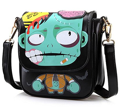 Agatha Garcia Ladies Lady Zombie Color Block Shoulder Bag Handbag Purse