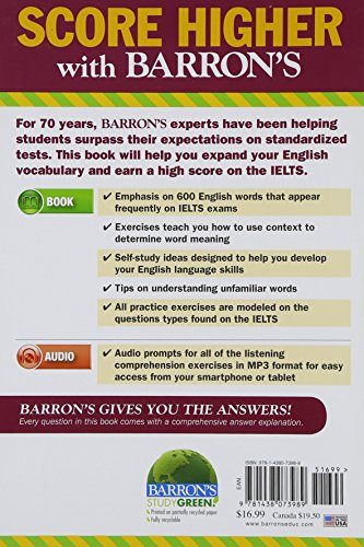 Essential Words for the IELTS with Audio-CD: International English Language Testing System