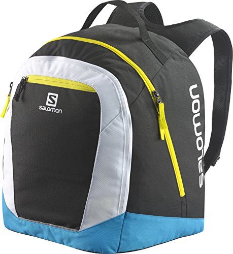 Salomon Original Gear Backpack Zaino da Sci, 40 cm, Black/Process Blue/White