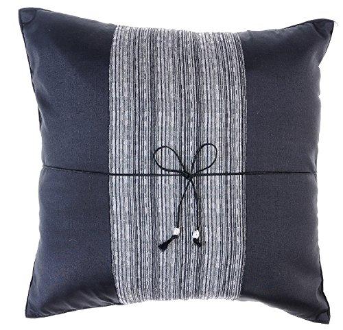 Avarada Striped Crepe Throw Pillow Cover Decorative Sofa