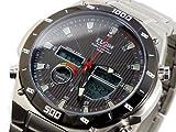 エルジン ELGIN 電波 ソーラー ワールドタイム 腕時計 FK1381S-BP