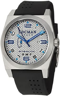 Locman Mens Stealth Watch Grey 200SLKVL