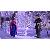 Movie Frozen Kristoff Olaf Anna HD Wallpaper Background