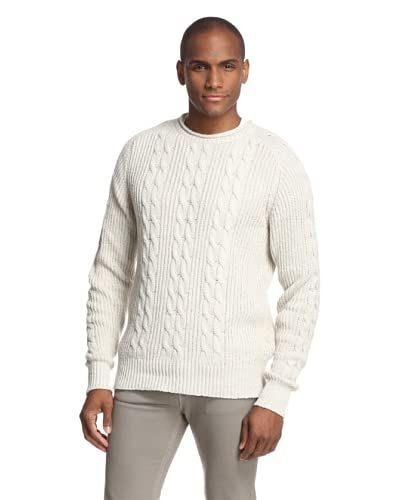 Todd Snyder Men's Cable Knit Roll Neck Sweater