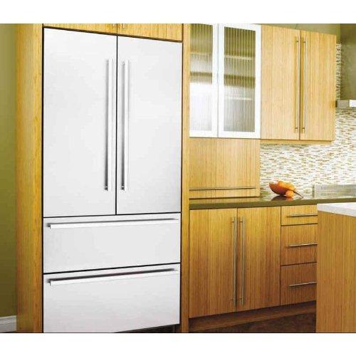 Liebherr Hcs-2062 + 9900-391 19.5 Cu. Ft. Capacity Refrigerator / Freezer With Ice Maker - Stainless Steel