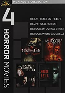 The Last House on the Left / The Amityville Horror / The House on Carroll Street / The House Where Evil Dwells