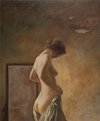 Oil Painting 'Modern The Back Of A Nude Woman', 10 x 12 inch / 25 x 31 cm , on High Definition HD canvas prints is for Gifts And Dining Room, Kids Room And Living Room Decoration, graph