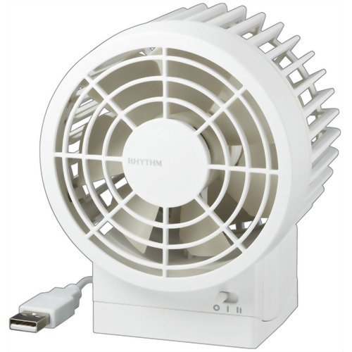 RHYTHM [energy saving] USB connection fan silky realized / [strong] / [quiet] / wind white 9 ZF002RH03 9FZ002RH03