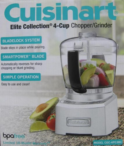 Cuisinart Elite Collection 4 Cup Chopper / Grinder - BPA Free