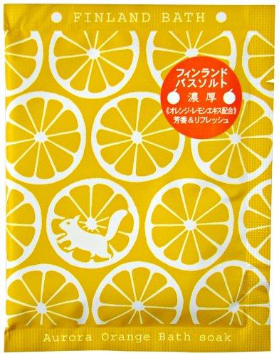 フィンランドバスソーク オーロラオレンジ 50g