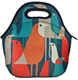 Neoprene Lunch Bag By Art of Lunch - With Design By Budi Satria Kwan (Indonesia) - Gourmet Designer Lunch Tote Created Through a Partnership with Artists Around the World
