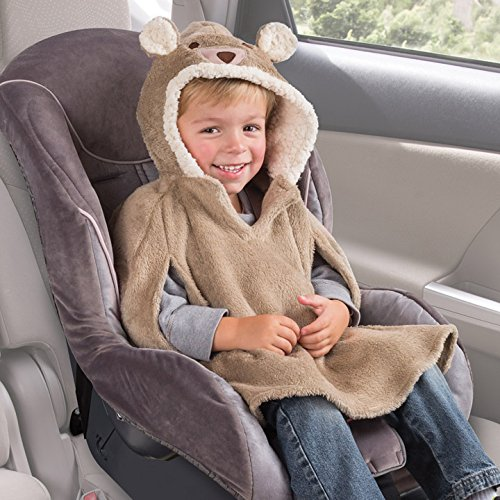 summer infant car seat coat and poncho cuddly bear baby toddler baby transport baby toddler seats. Black Bedroom Furniture Sets. Home Design Ideas