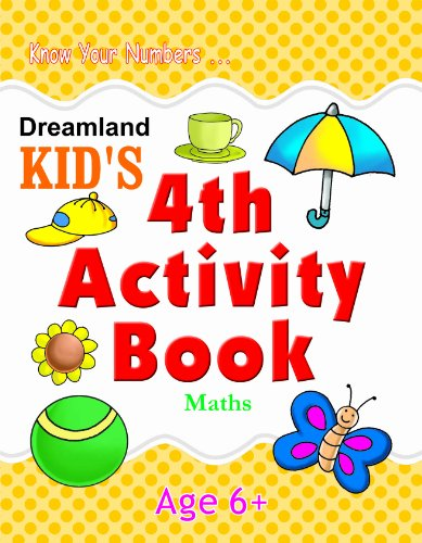 4th Activity Book - Maths (Kid's Activity Books) Image