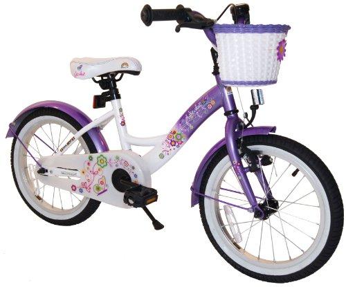 bike star 16 zoll kinder fahrrad farbe lila. Black Bedroom Furniture Sets. Home Design Ideas