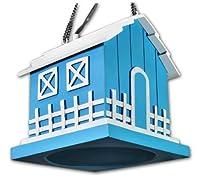 OSD Audio BH525 Single Blue Outdoor Hanging Bird House Speaker