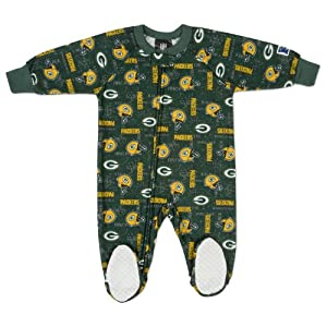 NFL Green Bay Packers Infant/Toddler Blanket Sleeper by Gerber