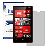 Halo Screen Protector Film High Definition (HD) Clear (Invisible) for AT&amp;T Nokia Lumia 820- Premium Japanese Screen Protectors