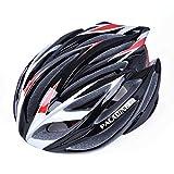 パラディニア(Paladineer)超軽量 サイクリングヘルメット 高剛性 21穴通気 アジャスター サイズ調整可能 7色 自転車用 レッド