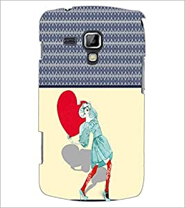 PrintDhaba Funny Image D-3788 Back Case Cover for SAMSUNG GALAXY S DUOS S7562 (Multi-Coloured)
