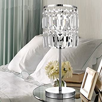 table lamp crystal lamp bedroom bedside lamp lighting