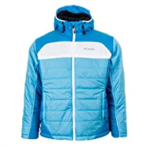 Columbia Shimmer Flash Jacket Riptide/Dark Compass/White Womens Sz XL