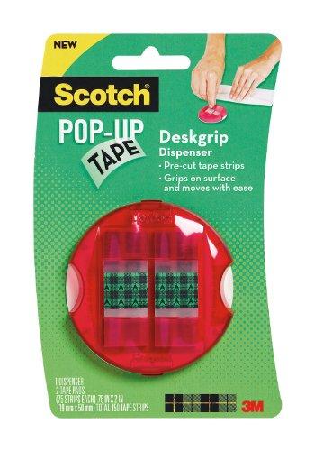 Scotch R Popup Tape Desk Grip Dispenser 0 75 X 2 Inches