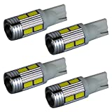 LED T10 T16 プロジェクター ポジション バックランプ テールランプ ウインカー ルームランプ ナンバー灯 4個(1セット)