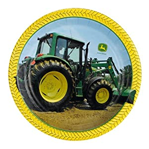 John Deere Dessert Plates (8) Party Supplies
